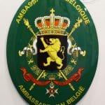 Emaille-wapenschild-België_0
